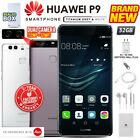 New & Sealed Factory Unlocked Huawei P9 Grey White Dual Sim 32gb Android Phone