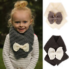Внешний вид - Children Winter Warm Hooded Scarf Boy Girl Knitted Crochet Neckerchief Neck Ring