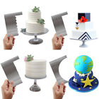 Stainless Steel Smoother Cake Edge Decoration Comb Cake Scraper Cake Cutter Tool
