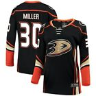 Fanatics Branded Ryan Miller Anaheim Ducks Womens Black Breakaway Jersey