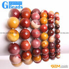 "Handmade Natural Mookaite Beaded Energy Bracelet 7""Christmas Gift Free Shipping"
