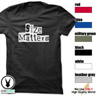 Size Matters Gym Rabbit T-Shirt Workout BodyBuilding Fitness Motivation Tee F291 image