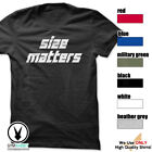 Size Matters Gym Rabbit T-Shirt Workout BodyBuilding Fitness Motivation Tee F298 image