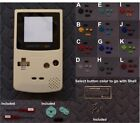 Nintendo GameBoy Color GBC Replacement Shell+Glass Lens -Pick Shell/ButtonColor!