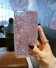 Moto E5 Play / E5 Cruise Girl's Rhinestone Star Bling Diamond Glitter Phone Case