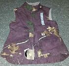 NWT MSRP Womens Carhartt Camo Camouflage Vest Sherpa Fleece Lined Real Tree XS S