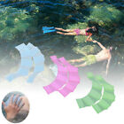 Pro 2PCs Silicone  Swimming Flippers Hand Swim Web Glove Fins Paddle Dive Finger