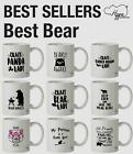 Best Bear printed Mug Cup Ceramic 10oz Animal Forrest Wild Fur Novelty Kitchen