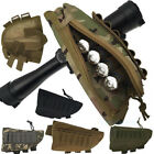 Nylon Tactical Shotgun Rifle Buttstock Cheek Rest Pad Stock Ammo Carrier Pouch