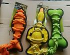 Out & About Cross Ropes Dog Toy choose from Fish, Duck, Bone