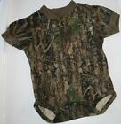 True Timber Camo Baby Diaper Snap Shirt, Camouflage Boy Creeper