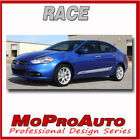 Race 2015 for Dodge Dart Rocker Panel Side Vinyl Decals Graphics 3M Vinyl WT0 $79.99 USD on eBay