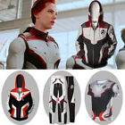 Avengers 4 Endgame Quantum Realm Battle Suit Cosplay Hoodie Sweater Coat Pants