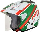 AFX Adult FX-50 Italy Open Face 3/4 Motorcycle Helmet Cruiser Touring 2019