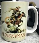 Winchester Vintage Adverstisment Coffee Mug 15 oz Made In U.S.A. image