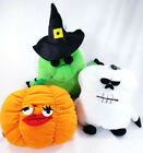 Ghoulie Grunter Halloween Ghost Witch Pumpkin Soft Dog Toys Squonker Puppy B60
