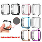 For Fitbit Versa Lite Watch Case Soft TPU Plated Screen Protector Rugged Cover