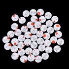 50Pcs/lot Mixed Love Pattern Cabochon Flatback Spacers Dome DIY Jewelry FindingW