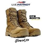 Mens OTB Desert Army Combat Patrol Boots Tactical Cadet Military Tan |UK 5-11|