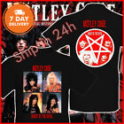 Motley Crue T Shirt Shout At The Devil T-Shirt VTG Rate Tee Full Size S-6XL image