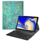 For Samsung Galaxy Tab S4 10.5 2018 Case Cover with Backlit Bluetooth Keyboard