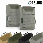 [2PACK] Tactical Laser-Cut Molle Multi-Purpose Pouch Bag EDC ID Phone Wallet