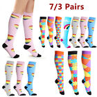 1Pair Unisex Health Compression Athletic Medical  Travels Long Socks HOT