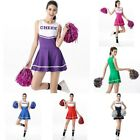 Used, Women Cheerleader High School Musical Glee Fancy Dress Uniform Party Costume Set for sale  Shipping to Canada