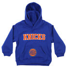 OuterStuff NBA Infant and Toddler's New York Knicks Fleece Hoodie, Blue on eBay
