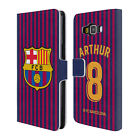 FC BARCELONA 2018/19 PLAYERS HOME KIT GROUP 2 LEATHER BOOK CASE FOR SAMSUNG 2