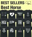 Best Horse unisex t-shirt Funny Gift Present Novelty Animal Pet Wild Stables