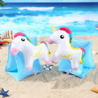 Cartoon Inflatable Pool Beach Swimming Aid Arm Bands Ring Float Kids Training HL