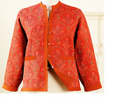New Warm Reversible Quilted Jacket 100% Quilted Cotton with Pocket & Button