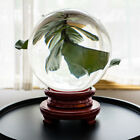 Clear Glass Crystal Ball 60-250mm Photography Lens Photo Prop Background Sphere