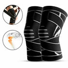Knee Brace Open Patella Support Adjustable Elastic Sports Kneecap Protector