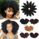"""8"""" Afro Kinky Marley Braids Twist Crochet Braid Soft Synthetic Hair Extensions"""