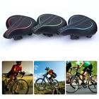 Bicycle Seat Cushion Saddle Shock-proof Sports Soft Front Seat Mat With Light