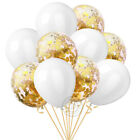 "10Pcs 12"" Metallic Balloons Bouquet Pearl Ballon Wedding Birthday Party Supplies"