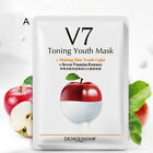 v7 toning youth facial fruit mask moisturizing oil control hydrating face mas HL