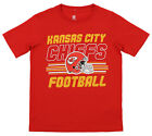 Outerstuff NFL Youth Kansas City Chiefs Team Color Short Sleeve Tee $9.99 USD on eBay