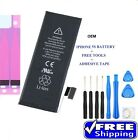 USED Replacement Battery For iPhone 5G 5S 6 6+ 6S 6S+ 7 7 + Adhesive + DIY TOOLS