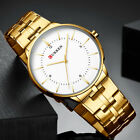 CURREN Men Watches Waterproof Quartz Analog Stainless Steel Wrist Watch Relogio image