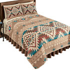 Reversible Southwest Geometric Aztec Quilt, by Collections Etc image