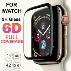 6D Tempered Glass Screen Protector For Apple Watch iWatch 4...
