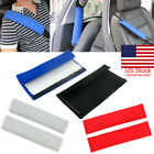 US 2X Shoulder Cover Cushion Seat Belt Pad Strap BackPack Harness Car Safety