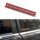 1x 3d Metal Limited Edition Car Auto Sticker Badge Decal Trunk Sticker Emblem
