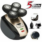 5IN1 4D Rotary Electric Shaver Rechargeable Bald Head Shaver Beard Trimmer US