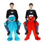 Elmo Sesame Street Cookie Mascot Costume Party Me Ride On Party Dress