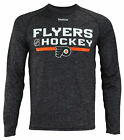 Reebok NHL Men's Philadelphia Flyers Locker Room Ultimate Long Sleeve Shirt $11.99 USD on eBay