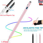 Rechargeable Capacitive Touch Screen Pen Stylus for Smartphone Tablet iPad iPod
